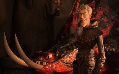Как приручить дракона 3, How to Train Your Dragon : The Hidden World, 2019, мультфильм, фэнтези