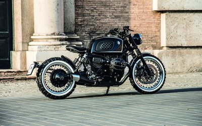 БМВ, мотоцикл, ретро-родстер, BMW, BMW R nine T