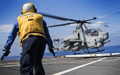 Белл AH-1Z Вайпер, американский ударный вертолет, Bell AH-1Z Viper, Корпус морской пехоты