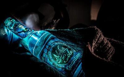 бутылка, напиток, кола, Nuka Cola, сияние, шарф