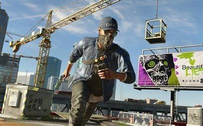 Сторожевые псы 2, Watch Dogs 2, 2016, мультиплатформенная компьютерная игра, приключения, боевик