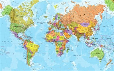World Map, Карта Мира, Текстуры