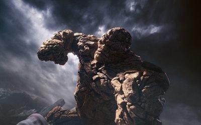 Фантастическая четвёрка, каменный человек, The Thing, Fantastic Four