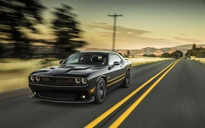 Додж Челенджер, суперкары, 2017, скорость, Dodge Challenger