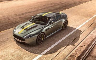Астон Мартин, Aston Martin Vantage, AMR Pro, 2018, гоночный автомобиль, спорткары, гоночный трек