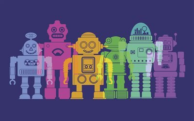 Техника, Минимализм, Роботы