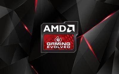 AMD, Gaming Evolved, эмблема, АМД