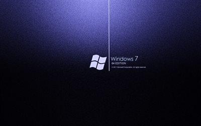 логотип, Windows 7, Виндоус 7, 64 edition