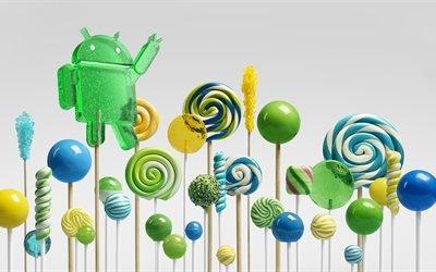 Android, логотип, Андроид