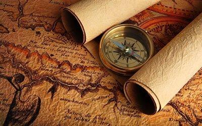 Старые карты, Текстуры, Компас