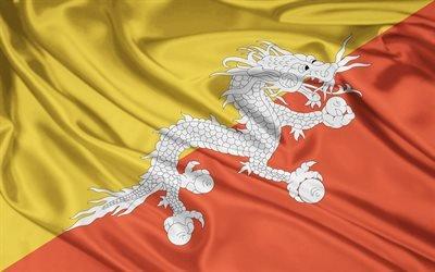Дракон, Флаг, Королевство Бутан