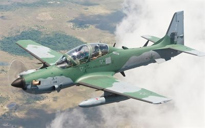 Супер Тукано, легкий штурмовик, Embraer, A-29 Super Tucano, ВВС Бразилии