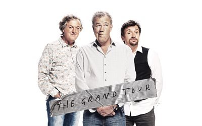 Гранд Тур, The Grand Tour, автомобильное шоу, Джереми Кларксон, Jeremy Clarkson, Ричард Хаммонд, Richard Hammond, Джеймс Мэй, James May