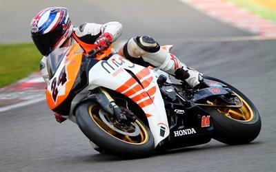 спорт, гонки, гонщик, мотоцикл, Хонда, Honda