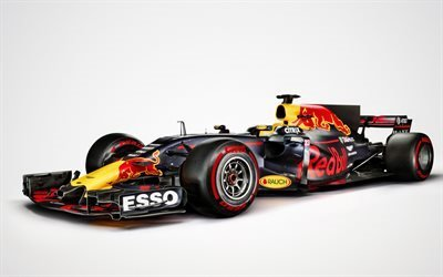 Формула 1, гоночный болид, Red Bull RB13, Formula 1, Ред Булл