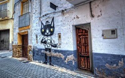 Старый квартал, Граффити, Фансара, Валенсия, Испания