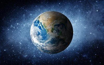 Галактика, Космос, Звезды, Планета, Земля