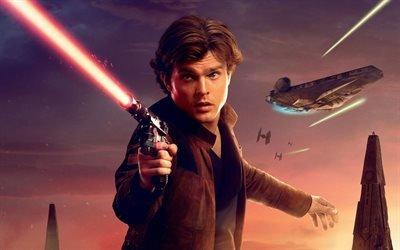 Хан Соло Звёздные Войны : Истории, Solo : A Star Wars Story, 2018, фантастика, приключения, Олден Эренрайк, Alden Ehrenreich
