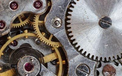 Механика, Часы, Шестеренки, Текстуры