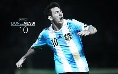 Lionel Messi, футболист, фан арт, гол, Барселона, Лионель Месси, футбольная звезда, Лео Месси, FC Barcelona