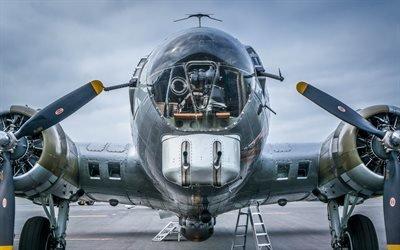 Летающая крепость, Боинг, Boeing, B-17G, бомбардировщик