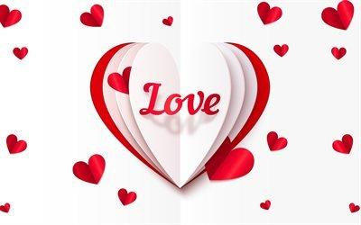 бумажное сердечко, любовь, сердце, оригами, паперове сердечко, кохання, серце, орігамі