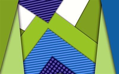 абстрактный фон, линии, полоски, 4к, креатив, абстракция