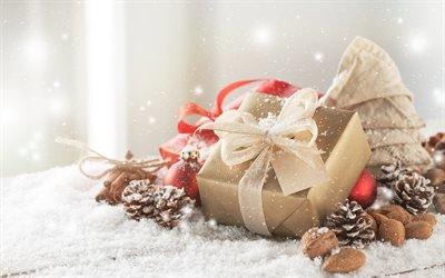 Різдво, зима, Новий Рік, прикраси, Новорічні подарунки, 2018, Рождество, Новый Год, украшения, Новогодние подарки