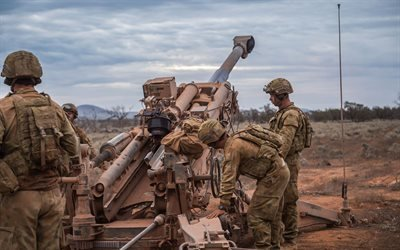 Оружие, Пушка, Австралийская армия