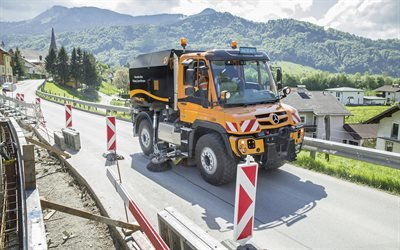 Мерседес - Бенц, грузовик, Mercedes - Benz, Unimog, Special Trucks