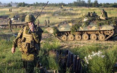 БМП-2, Украина, учения 2016, канадские военные, солдаты