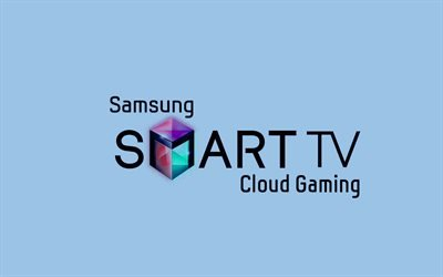 логотип, Samsung Smart TV, Самсунг Смарт ТВ