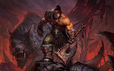 Grommash Hellscream, Warcraft, Громмаш Адский Крик, Орк, воин