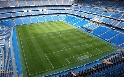 футбольный стадион, Сантьяго Бернабеу, стадион Реал Мадрид, Испания, Real Madrid, Santiago Bernabeu, Spain
