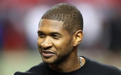 Ашер, американский певец, продюсер, Usher, портрет