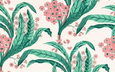 Цветы, Узоры, Текстуры, Шведский текстиль