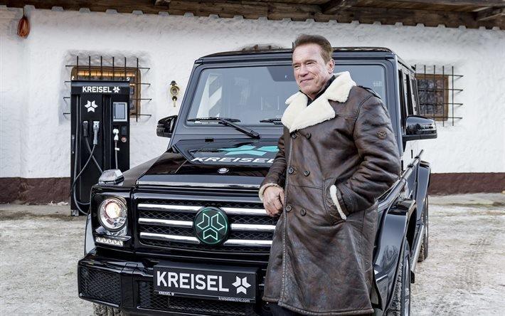 Крайзель, Мерседес-Бенц, Гелендваген, электрический внедорожник, Kreisel Electric, Mercedes-Benz, Arnold Schwarzenegger, Арнольд Шварцнеггер