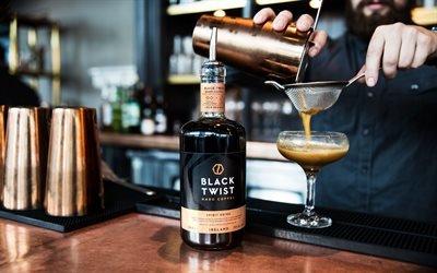 Ирландский виски, Кофе, Коктейль, Irish Whiskey, Coffe, Cocktail, Black Twist