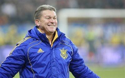 Динамо, Украина, Блохын, тренер