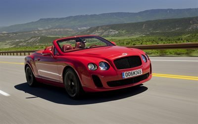 Кабриолет, Бентли, Bentley, Continental, GT, Supersports