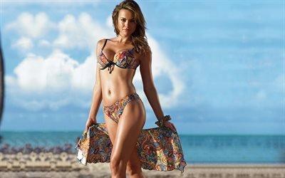 Fernanda, Mello, пляж