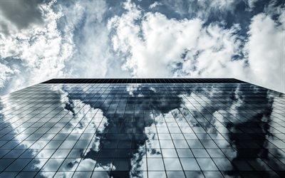 скло, стекло, дом, архитектура