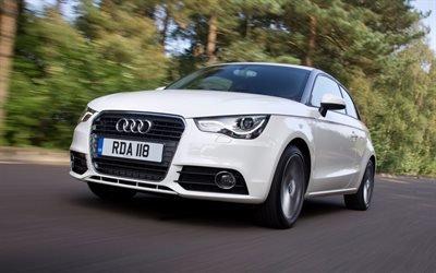 Белая, Ауди, А1, Audi, A1, TDI