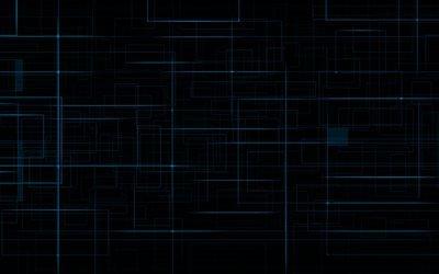 синий, линии
