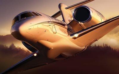 Самолет, Сесна, Cessna, 750, Citation, X