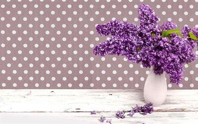 бузок, весняні квіти, бузок у вазі, весна, сирень, весенние цветы, сирень в вазе