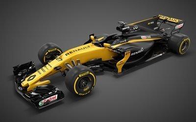 Формула 1, 2017, Рено, Renault RS17, гоночный болид, Formula 1, гонки