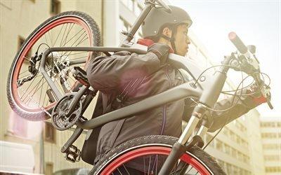 Новые технологии, БМВ, велосипед, BMW, Cruise M-Bike