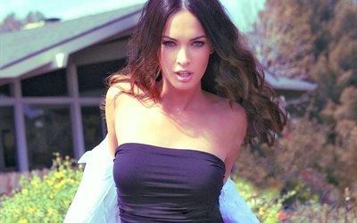 Megan Fox, девушка, взгляд