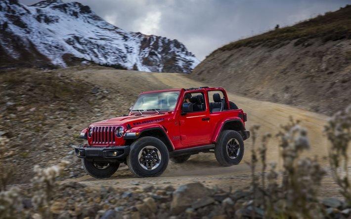 Джип, внедорожник, 2018, Jeep, Jeep Wrangler Rubicon